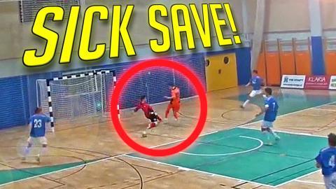 TOP 5 - Best Goalkeeper Saves I WEEK #76 2016
