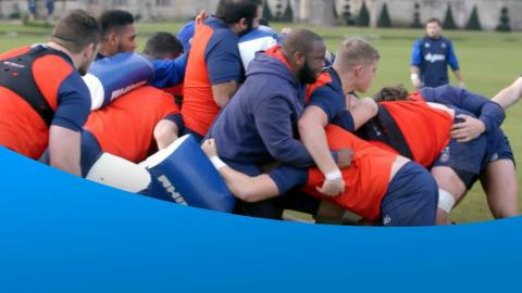 The second of Ricoh's Rugby Change Series