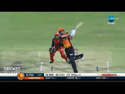 Perth Scorchers v Melbourne Renegades, BBL|07