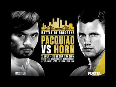Manny Pacquiao vs Jeff Horn ESPN Pre Fight Promo Highlights ! Training Interview Sparring Footage