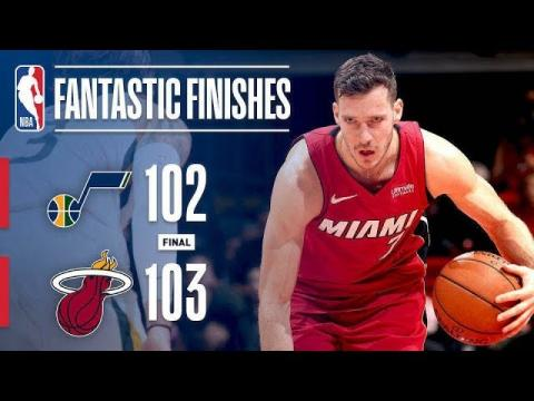 Best Plays From Down The Stretch: Heat vs Jazz