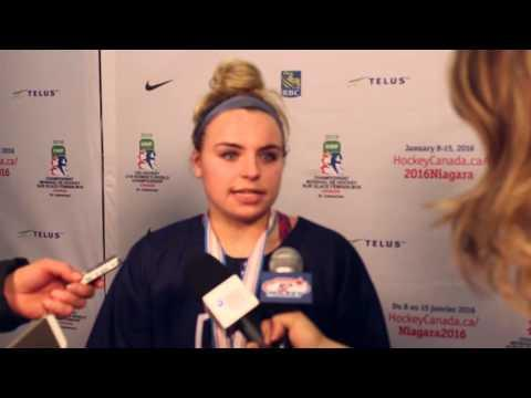 2016 U18WW: Post Game Comments from USA's Gold Medal Victory over Canada