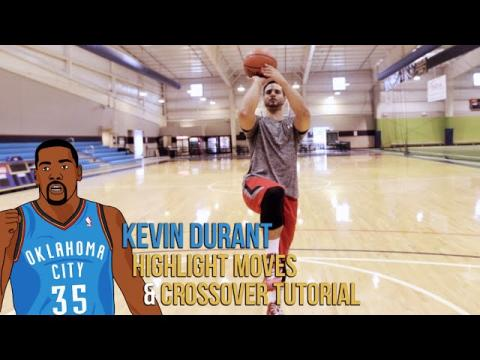 How To: Kevin Durant Basketball Moves Tutorial!!