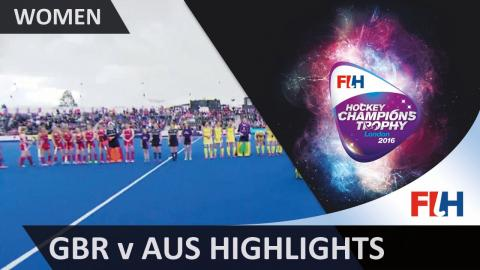 Great Britain v Australia Match Highlights #HCT2016
