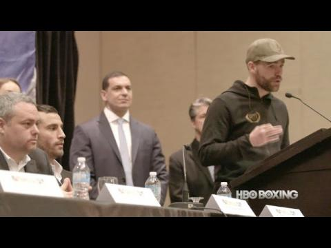 Salido vs. Roman Press Conference Recap (HBO Boxing News)