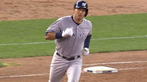 NYY@MIN: A-Rod ties game in the 9th with third homer