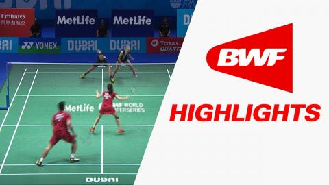 Dubai World Superseries Finals 2016 | Badminton SF1 – Highlights