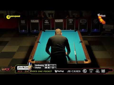 #6 Shane VanBOENING vs Tony CHOHAN / 2017 WCC One Pocket