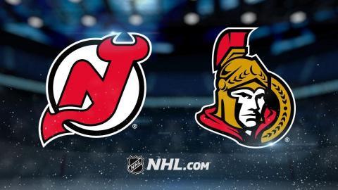 Duchene, Hoffman lead Senators to home win vs. Devils