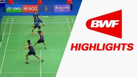 Princess Sirivannavari Thailand Masters 2016 | Badminton SF – Highlights