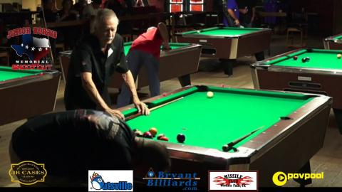 *Partial Match* #2 - W. GLASS vs D. CARLSON - Junior Norris 10-BALL • 2017