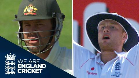 Flintoff Runs Out Ponting: The Oval 2009 Ashes - Full Coverage