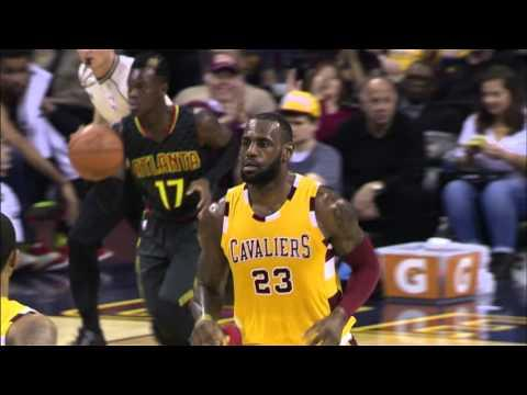 LeBron James and Kyrie Irving Leads Cavaliers Past Hawks