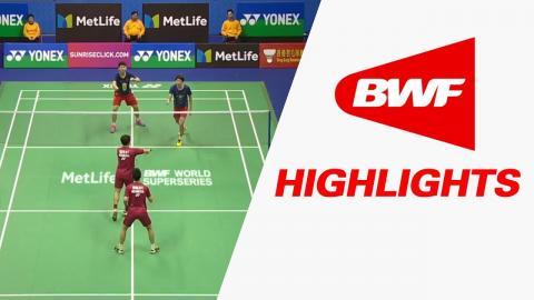 Yonex-Sunrise Hong Kong Open 2017   Badminton SF – Highlights