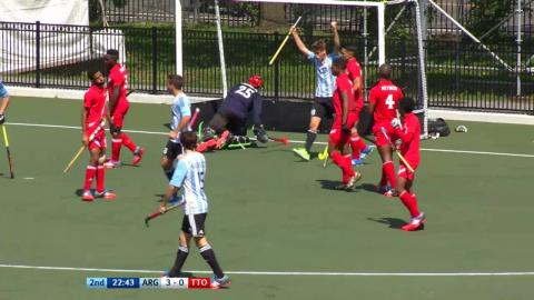 ARG 4-0 TTO The fourth goal comes from a rapid breakaway #JrPanam2016