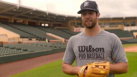 Glove Love: Daniel Norris talks about his glove collection