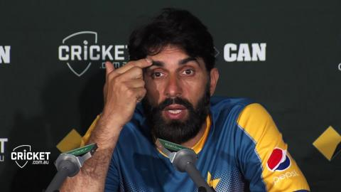 Happy to see the team playing like that: Misbah