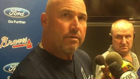 ATL@COL: Fredi discusses Miller's woes in 5-3 loss