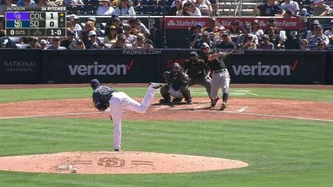 COL@SD: LeMahieu extends on-base streak to 28 games
