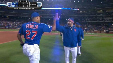 NLCS Gm2: Familia induces groundout to secure the win