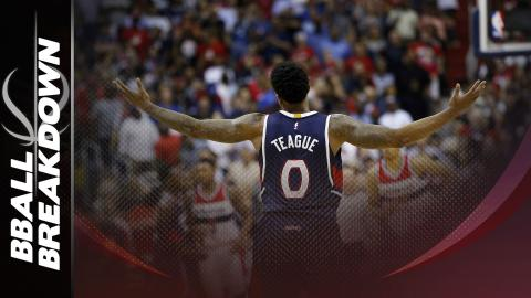 Jeff Teague Assists Get Hawks Back On Track: Hawks at Wizards Game 4