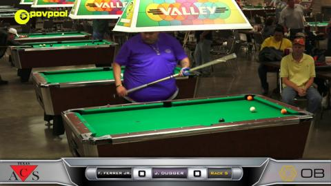 #8a -  Singles FINALS Part 1 - 2017 Texas ACS State 8-Ball Championship