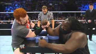 Sheamus Vs Mark Henry - Arm Wrestling Match - May 3rd. 2013
