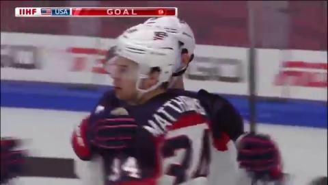 Highlights from Team USA's 10-1 Win over Swiss at 2016 IIHF World Junior Championship