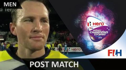 Australia Champions Trophy Winners! Tyler Lovell post match interview #HCT2016