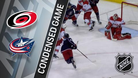 11/28/17 Condensed Game: Hurricanes @ Blue Jackets