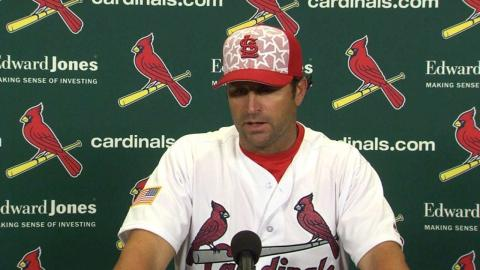 PIT@STL: Matheny talks Martinez in Cards loss