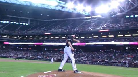 SD@ARI: Ray fans seven batters over 5 2/3 frames