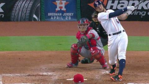 LAA@HOU: Marisnick slams solo home run to deep left