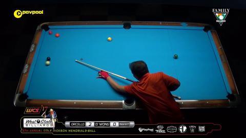 #15 • Dennis ORCOLLO vs Delbert WONG / 2017 Cole Dickson 9-Ball