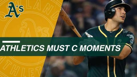 Must C: Top moments from the A's 2017 season