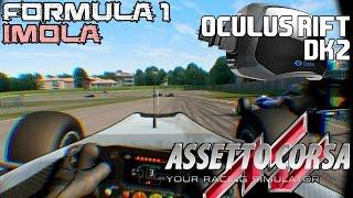 Assetto Corsa || Oculus Rift DK2 || Formula 1 En Imola