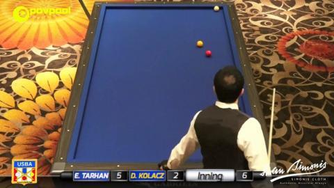 1 • Ertan TARHAN vs Dan KOLACZ • 2017 USBA / Gabriel's 3C Open