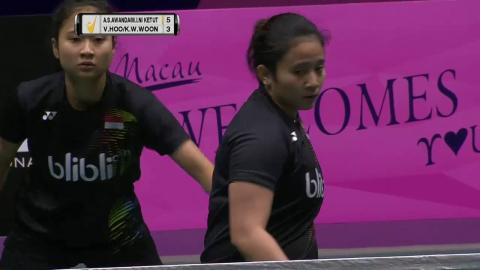 Macau Open 2016   Badminton SF M3-WD   Awa/Ket vs Hoo/Woon