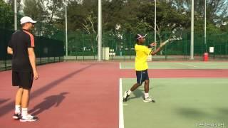 Tennis Forehand Contact Point And How To Find It