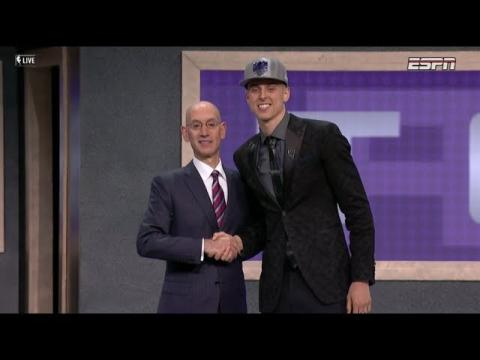 Zach Collins Drafted 10th Overall By Sacramento Kings In 2017 NBA Draft