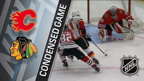 02/06/18 Condensed Game: Flames @ Blackhawks