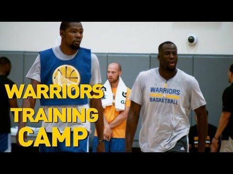 Training Camp with the Golden State Warriors