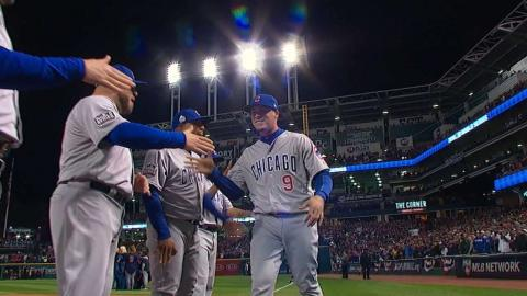 WS2016 Gm1: Maddon, Cubs starters introduced