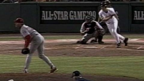 1999 ASG: Ripken Jr. hits an RBI single in the 1st