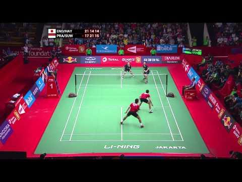 TOTAL BWF World Championships 2015 | Badminton Day 5 QF – Highlights 2