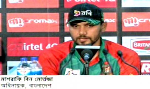 Bangla Cricket News,Mashrafe Talking After Bangladesh Beat Pakistan in 8th Asia cup cricket Match