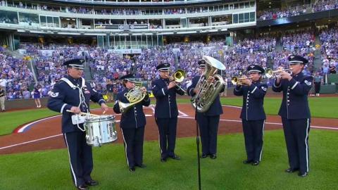 KC@TB: Kauffman Stadium celebrates Memorial Day