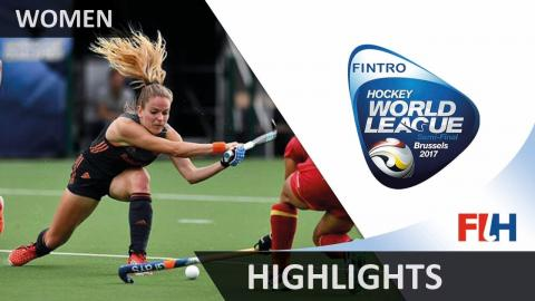 Fintro Hockey World League Brussels Highlights