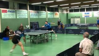LA GARDE Vs COMBS SENART / N2 / 2015 / Tennis De Table / HD