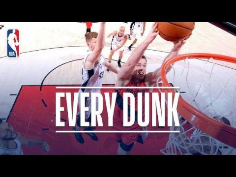 Donovan Mitchell, Steven Adams, Josh Jackson and Every Dunk From Sunday Night | Jan. 7, 2018